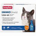 BEAPHAR IMMO SHIELD LINE-ON PILIENI KAĶIEM 1ML N3